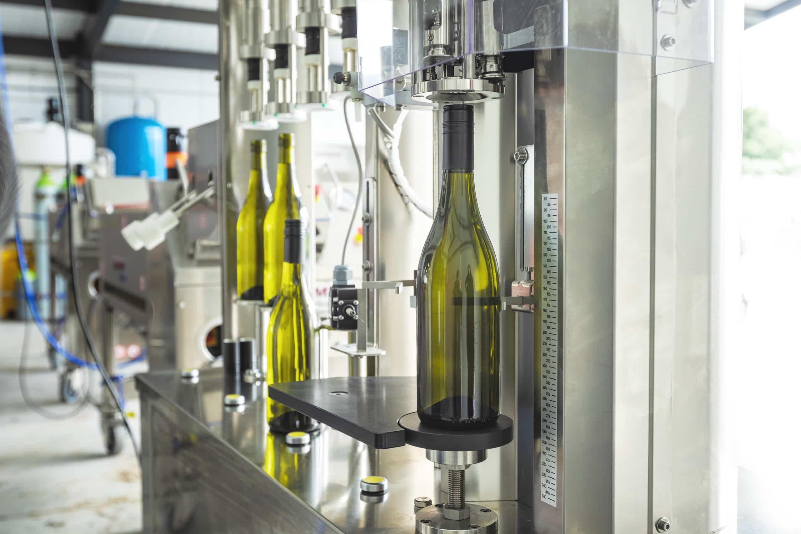 Bottling begins for inaugural vintage
